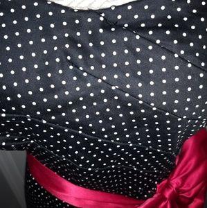 torrid Dresses - Women's Torrid black & white polkadot dress